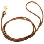 Elegant Leather Dog Leash for Dog Shows