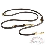 Leather Dog Leash for Different Kind of Activities