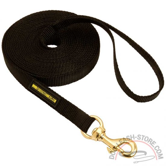 Durable Nylon Dog Leash for Training and Tracking