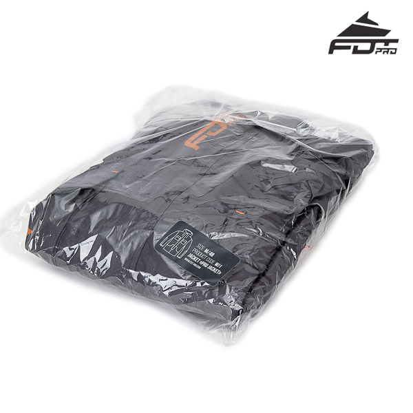 FDT Pro Dog Training Jacket with Top Rate Velcro Fastening