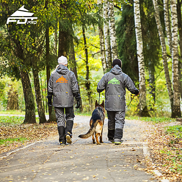 FDT Pro Dog Training Jacket of Top Quality for All Weather Use