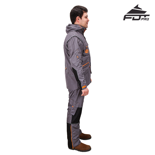 Durable Any Weather Training Suit for Pro Dog Trainers