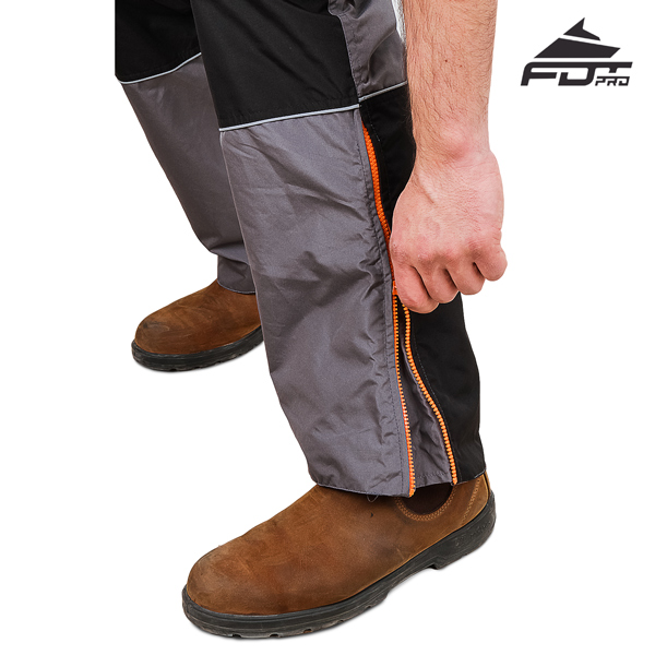 FDT Pro Design Pants with Strong Zippers for Dog Tracking