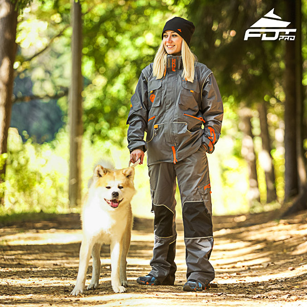 Men / Women Design Dog Trainer Jacket of Fine Quality Materials