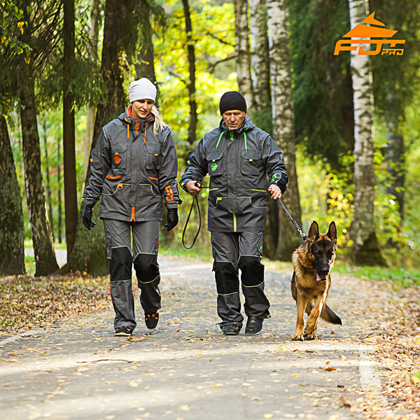 Any Weather Durable Dog Tracking Suit for Men and Women