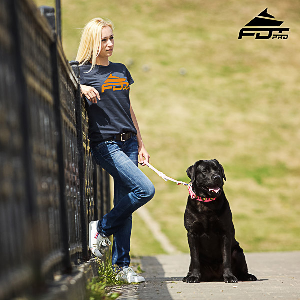 Women T-shirt of Fine Quality Cotton for Dog Trainers