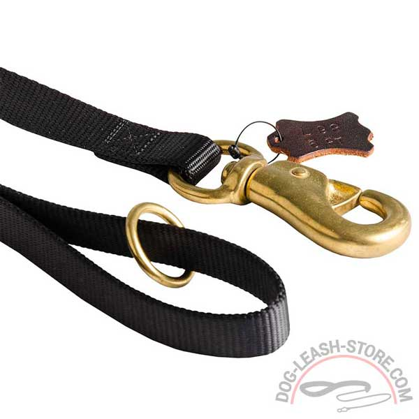 Brass Rustproof Hardware of Nylon Dog Leash