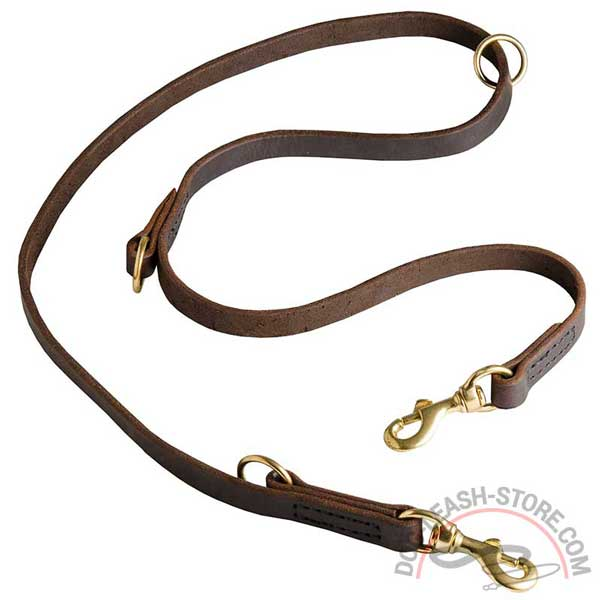 Multifunctional Leather Dog Leash High Quality