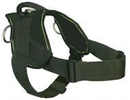 Nylon multi-purpose dog harness for tracking- patrol harness
